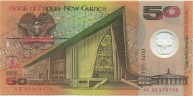 Papua-Neuguinea / Papua New Guinea P.18c 50 Kina (2002) Polymer (1)