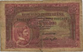 Angola P.066 5 Angolares 1926 (5)