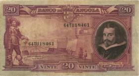 Angola P.083 20 Angolares 1951 (3-)