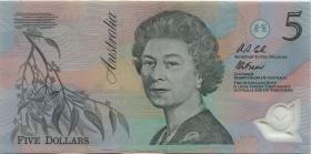Australien / Australia P.50a 5 Dollars (1992) Polymer (2)