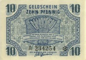 R.212: Rheinland-Pfalz 10 Pfennig 1947 A Rheinland-Pfalz (1)