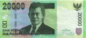 Indonesien / Indonesia P.151e 20.000 Rupien 2015 (1)