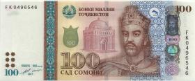 Tadschikistan / Tajikistan P.27b 100 Somoni 2017 (1)