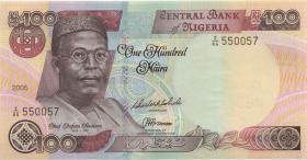Nigeria P.28e 100 Naira 2005 (1)