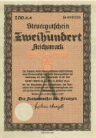 Steuergutschein 200 Reichsmark 1937 (1944) (1)