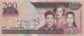 Dom. Republik/Dominican Republic P.178a 200 Pesos Oro 2007 (1)