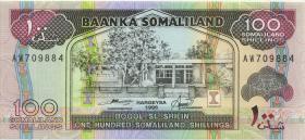 Somaliland P.05b 100 Shillings 1996 (1)