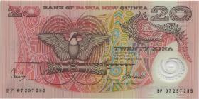Papua-Neuguinea / Papua New Guinea P.26A 20 Kina (2007) Polymer (1)