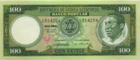 Äquat.-Afrikan.-Staaten P.06 100 Ekuele 1975 (1)