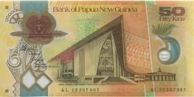 Papua-Neuguinea / Papua New Guinea P.32b 50 Kina (2012) Polymer (1)