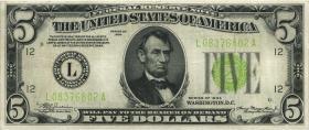 USA / United States P.429D 5 Dollars 1934 (3)