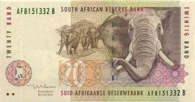 Südafrika / South Africa P.124b 20 Rand (1999) (1)
