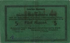 R.933n: 5 Rupien 1916 H (2)