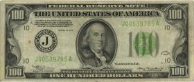 USA / United States P.433D 100 Dollar 1934 (3)