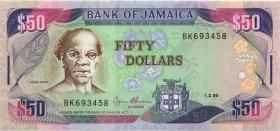 Jamaika / Jamaica P.73c 50 Dollars 1995 (1)