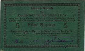 R.933i: Deutsch-Ostafrika 5 Rupien 1916 (1-)