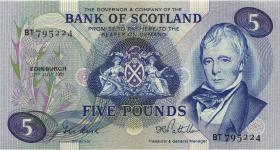 Schottland / Scotland P.112e 5 Pounds 1981 (1)