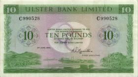 Nordirland / Northern Ireland P.327b 10 Pounds 1980 (2)