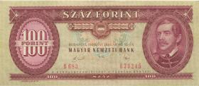 Ungarn / Hungary P.171h 100 Forint 1989 (2)