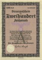 Steuergutschein 200 Reichsmark 1937 (1945) (1/1-)