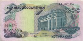 Südvietnam / Viet Nam South P.029 1000 Dong (1971) (1-)