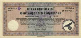 R.719c: Steuergutschein 1000 Reichsmark 1939 (Feb 1940) (2)