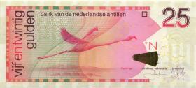 Niederl. Antillen / Netherlands Antilles P.29h 25 Gulden 2014 (1)
