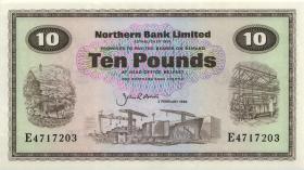 Nordirland / Northern Ireland P.189e 10 Pounds 1986 (1)