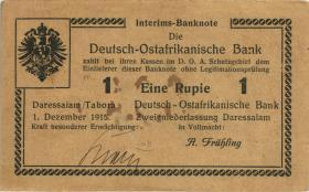 R.925f: Deutsch-Ostafrika 1 Rupie 1915 K (3+)