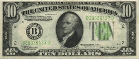 USA / United States P.430Da 10 Dollars 1934 A (3+)