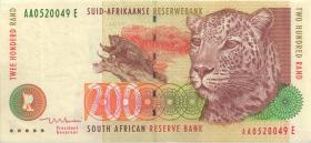 Südafrika / South Africa P.127b 200 Rand (1999) (2)