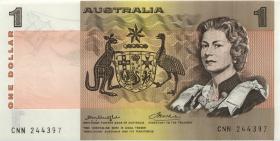 Australien / Australia P.42b2 1 Dollar (1976) (1)