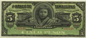 Mexiko / Mexico P.S429r 5 Pesos (2014) (1)