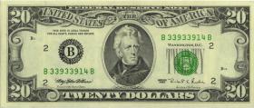 USA / United States P.500 20 Dollar 1995 B (1)