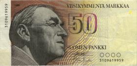 Finnland / Finland P.114 50 Markkaa 1986 (3)