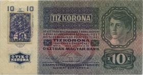 Tschechoslowakei / Czechoslovakia P.001b 10 Kronen 1919 (2)