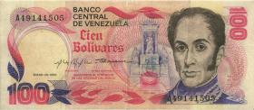 Venezuela P.059 100 Bolivares 1980 (3)