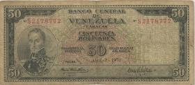Venezuela P.47f 50 Bolivares 1970 (5)