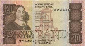 Südafrika / South Africa P.121e 20 Rand (1990-93) (1-)