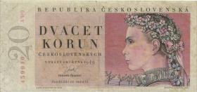 Tschechoslowakei / Czechoslovakia P.70a 20 Korun 1949 (3)