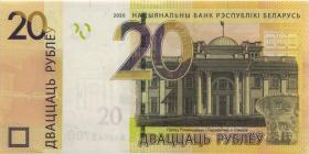 Weißrussland / Belarus P.neu 20 Rubel 2020 (1)