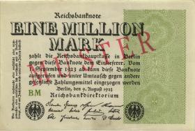 R.101M 1 Millionen Mark 1923 MUSTER (1/1-)