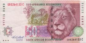 Südafrika / South Africa P.125b 50 Rand (1992) (3)