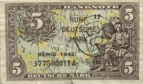 R.237F 5 DM 1948 zeitgenössische Fälschung (4)