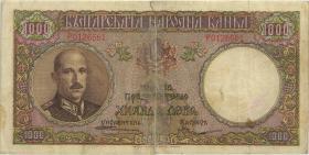 Bulgarien / Bulgaria P.056a 1.000 Lewa 1938 (6)