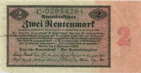 R.155: 2 Rentenmark 1923 (3) Serie C
