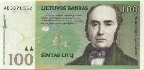 Litauen / Lithuania P.62 2000 Litu Serie AB (1)