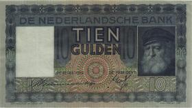 Niederlande / Netherlands P.049 10 Gulden 1939 (2)