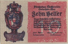 Liechtenstein P.1 10 Heller (1920) (1)