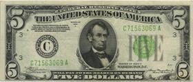 USA / United States P.429Da 5 Dollars 1934 A (3)